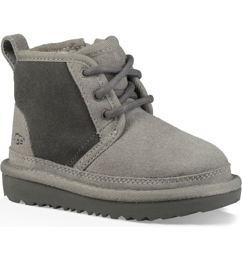 UGG<SUP>®</SUP> Neumel II Water Resistant Chukka Boot, Main, color, CHARCOAL