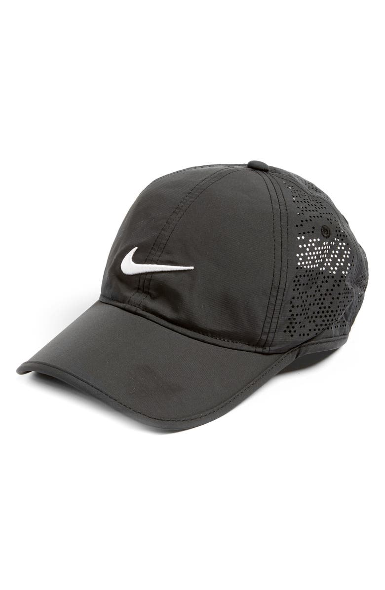NIKE Perforated Golf Hat, Main, color, 010