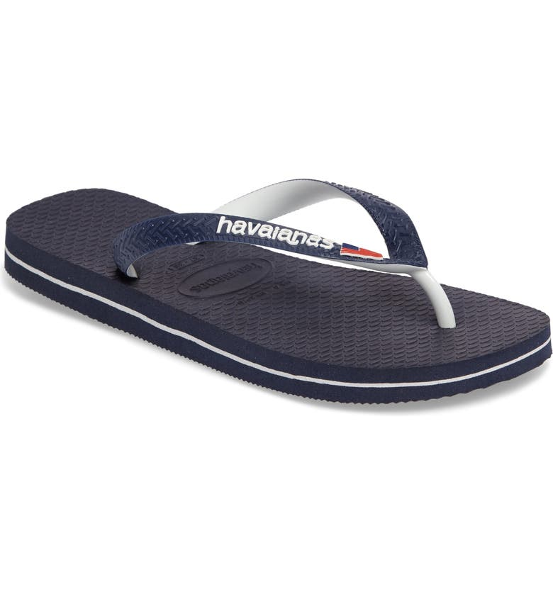 HAVAIANAS Top Mix USA Flag Flip Flop, Main, color, 400