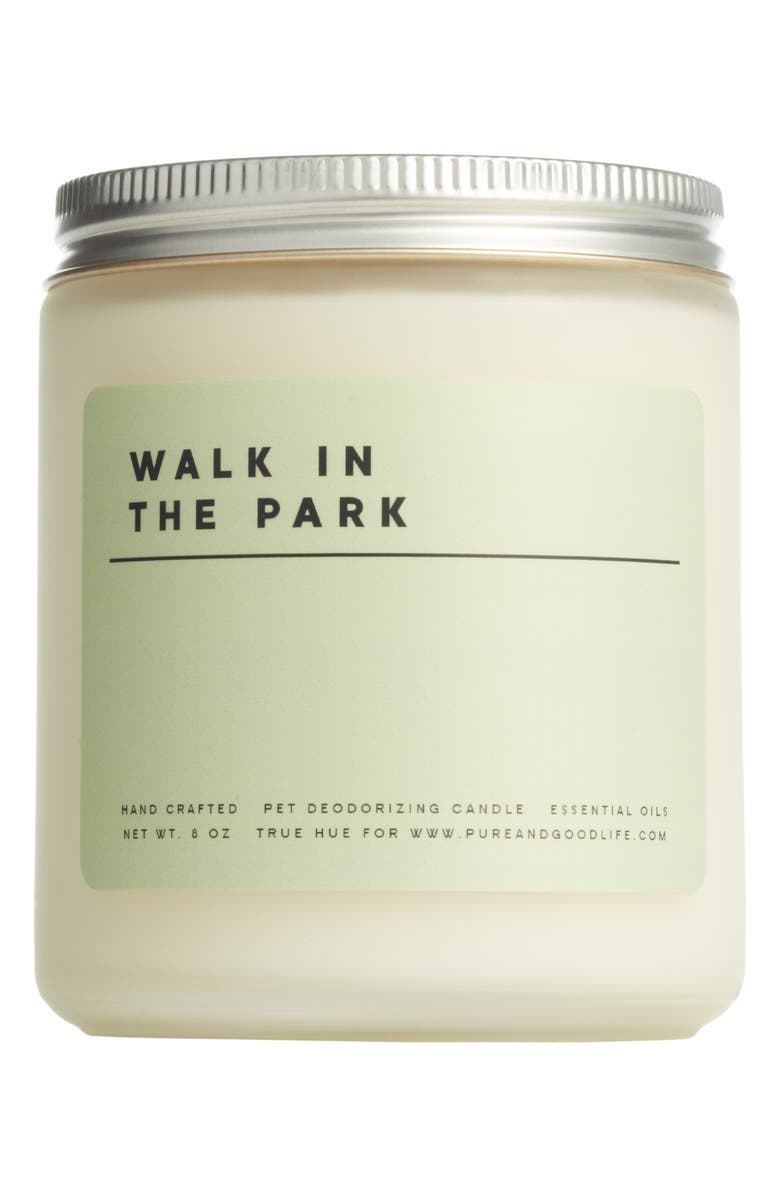 PURE + GOOD Walk in the Park Pet Deodorizing Soy Wax Candle, Main, color, 300