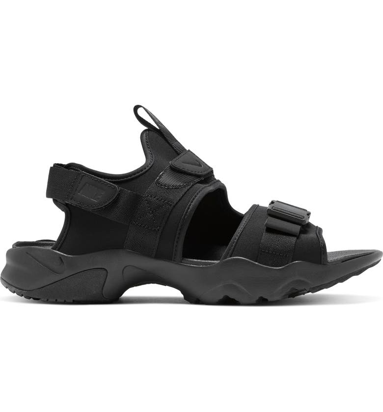 NIKE Canyon Sandal, Main, color, BLACK/ BLACK/ BLACK