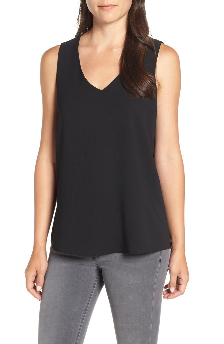 GIBSONLOOK V-Neck Shell, Main, color, 001