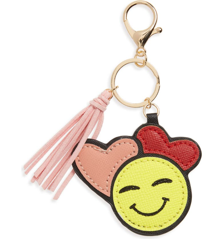 CARA In Love Emoji Key Chain, Main, color, 001