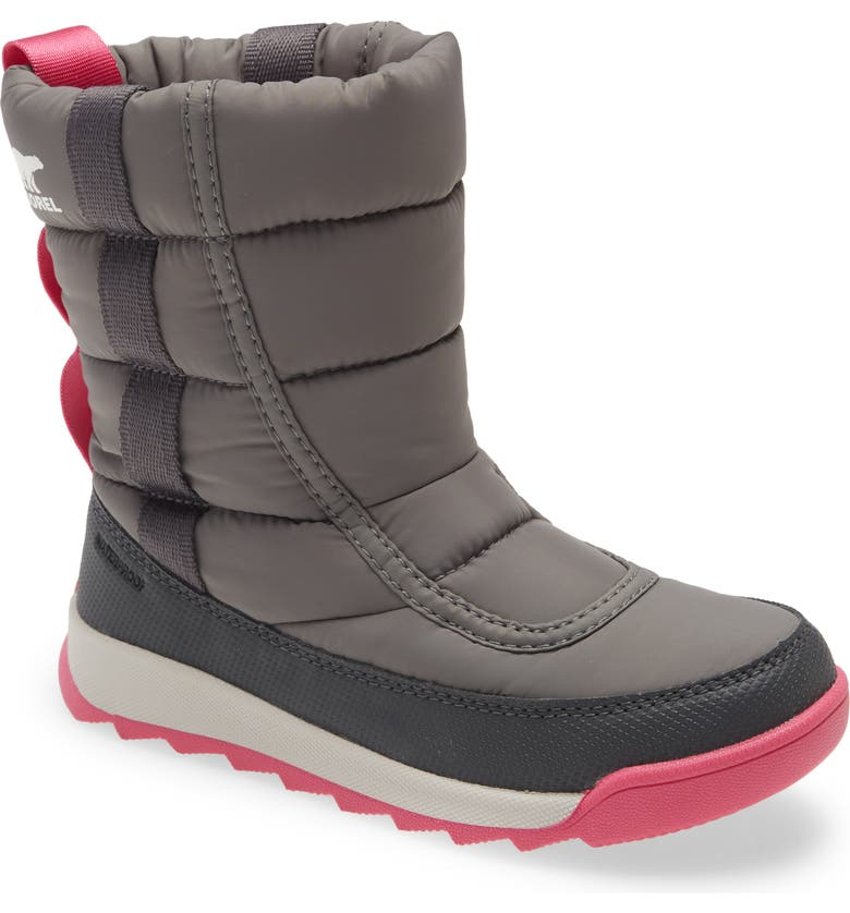 SOREL Whitney II Puffy Waterproof Boot, Main, color, QUARRY