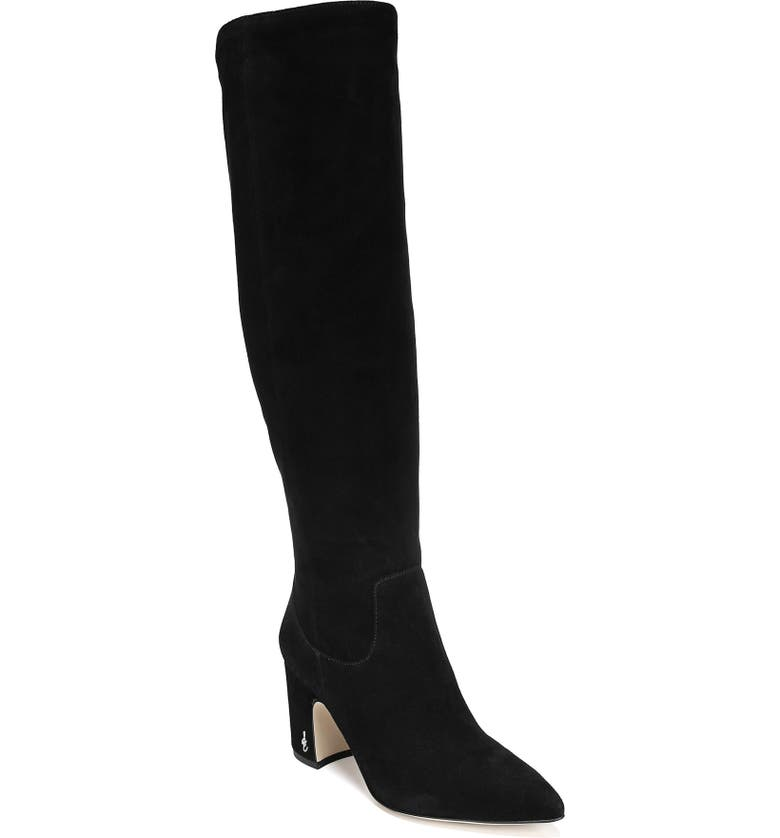SAM EDELMAN Hai Knee High Boot, Main, color, 001