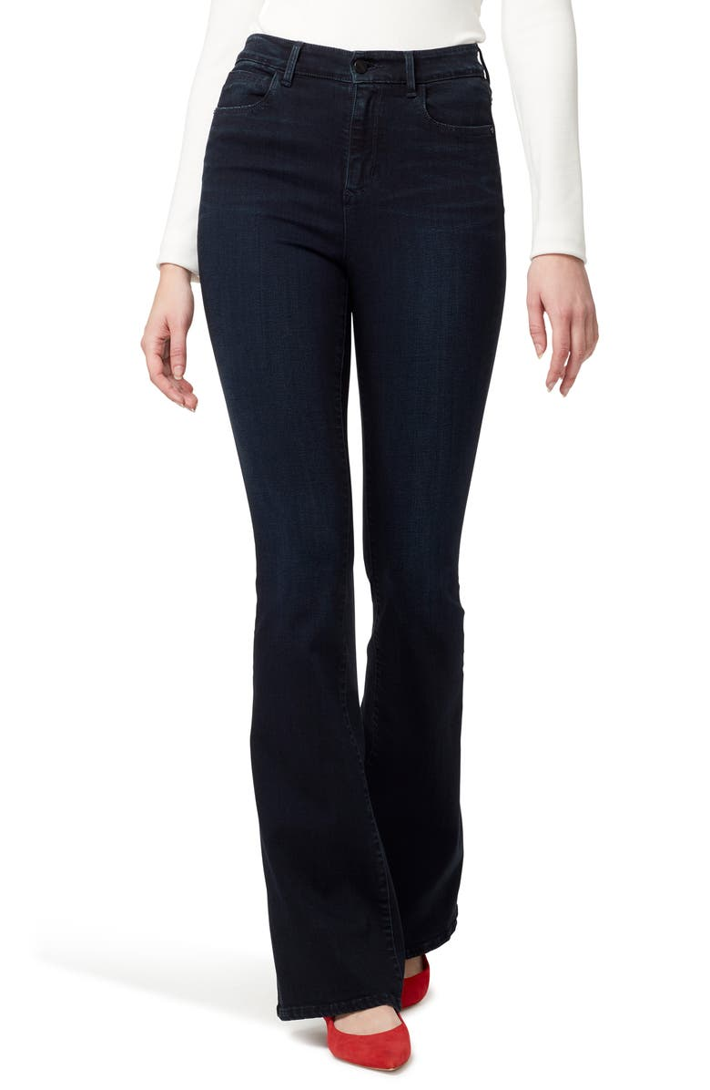 SANCTUARY High Waist Flare Jeans, Main, color, 401