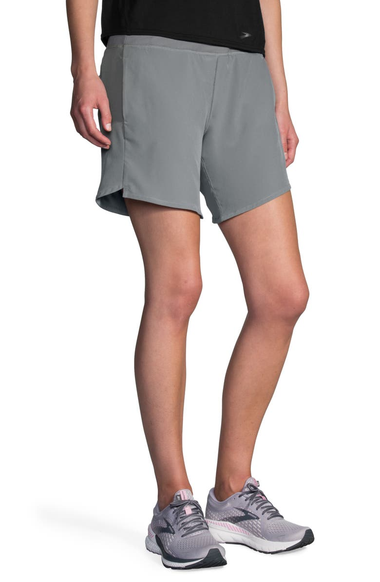 BROOKS Chaser 7 Shorts, Main, color, STEEL