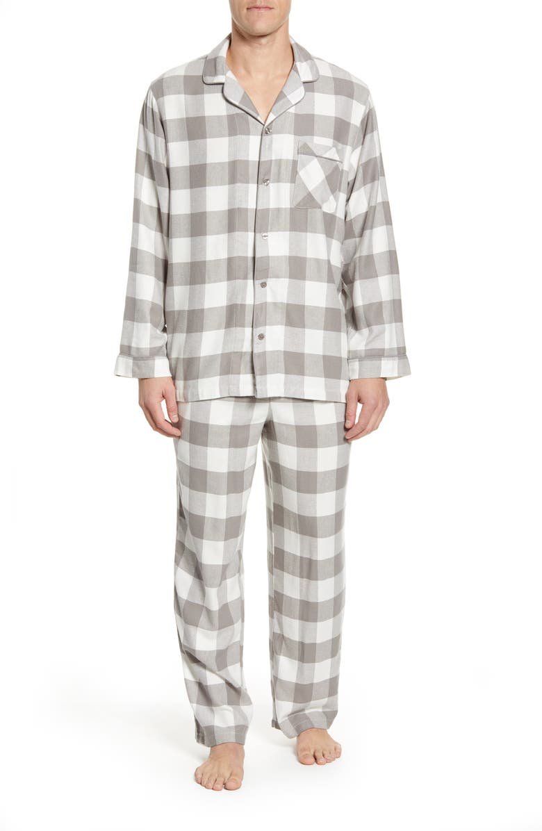 NORDSTROM Men's Shop Family Flannel Pajamas, Main, color, 020