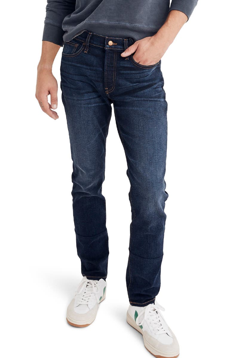 MADEWELL Slim Fit Jeans, Main, color, BAXLEY