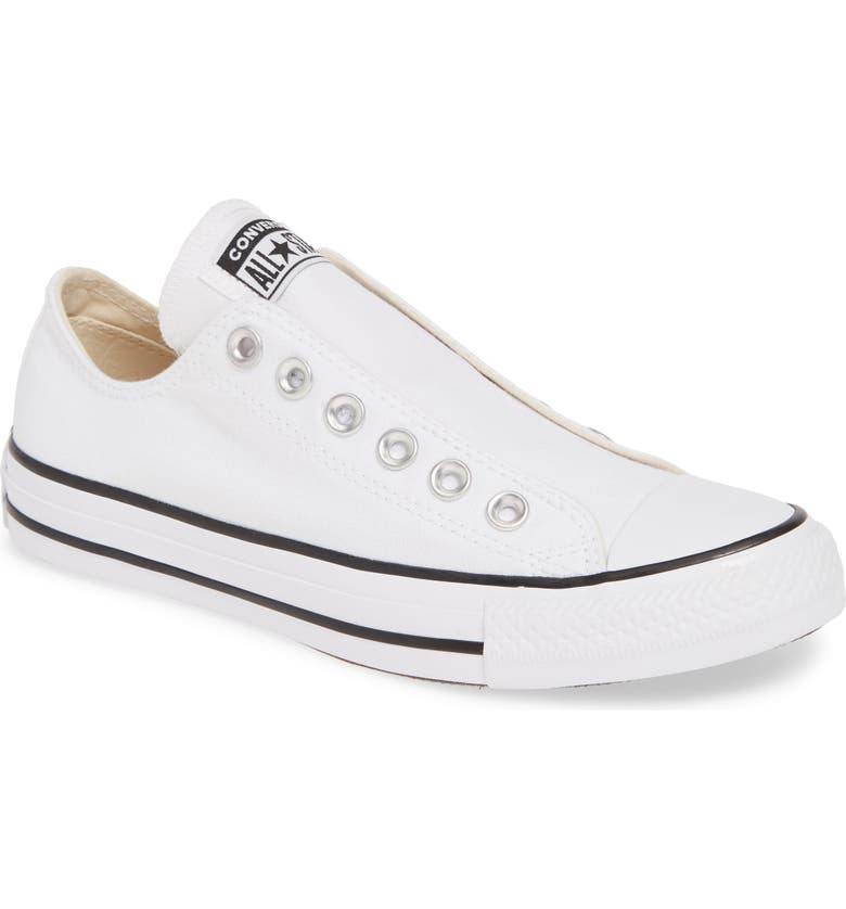 CONVERSE Washed Laceless Sneaker, Main, color, 102
