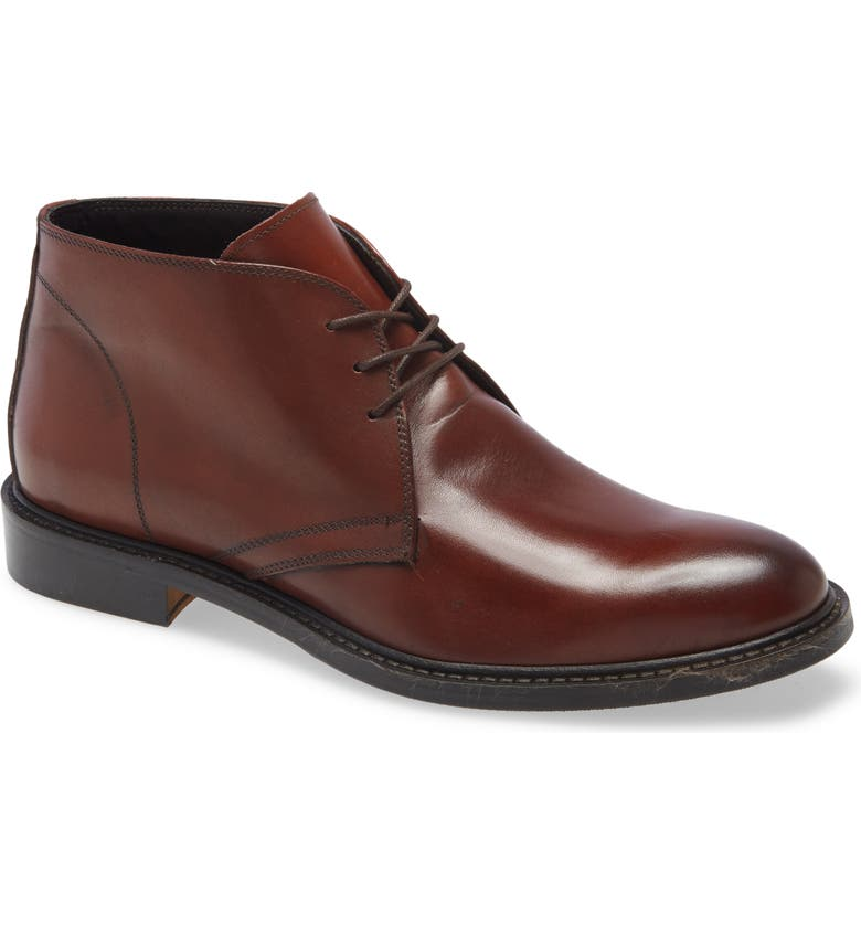 TO BOOT NEW YORK Vanguard Chukka Boot, Main, color, BROWN LEATHER