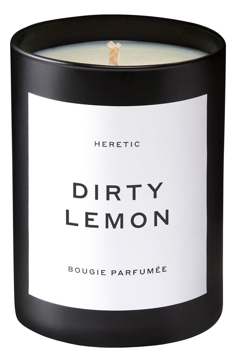 HERETIC Dirty Lemon Candle, Main, color, No Color