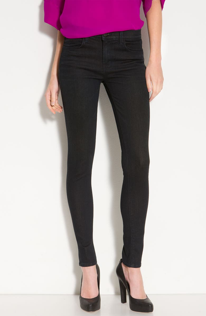 J BRAND '620' Mid-Rise Skinny Jeans, Main, color, 001