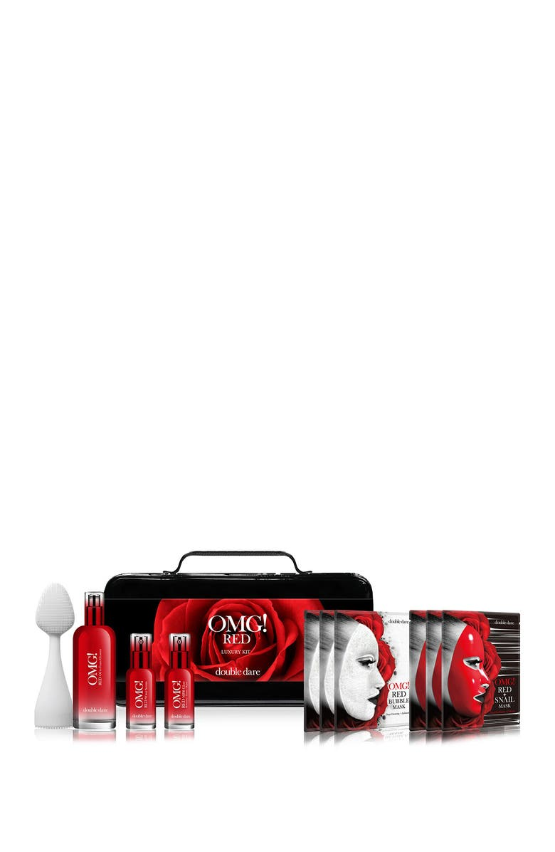 OMG DOUBLE DARE OMG! Red Luxury Kit, Main, color, NO COLOR