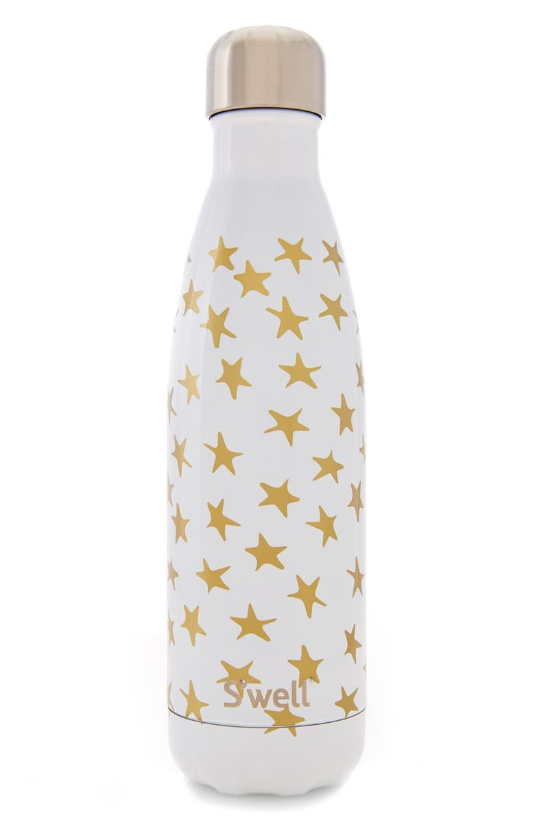 S'WELL 'Galaxy Collection - Star Crossed' Stainless Steel Water Bottle, Main, color, 100