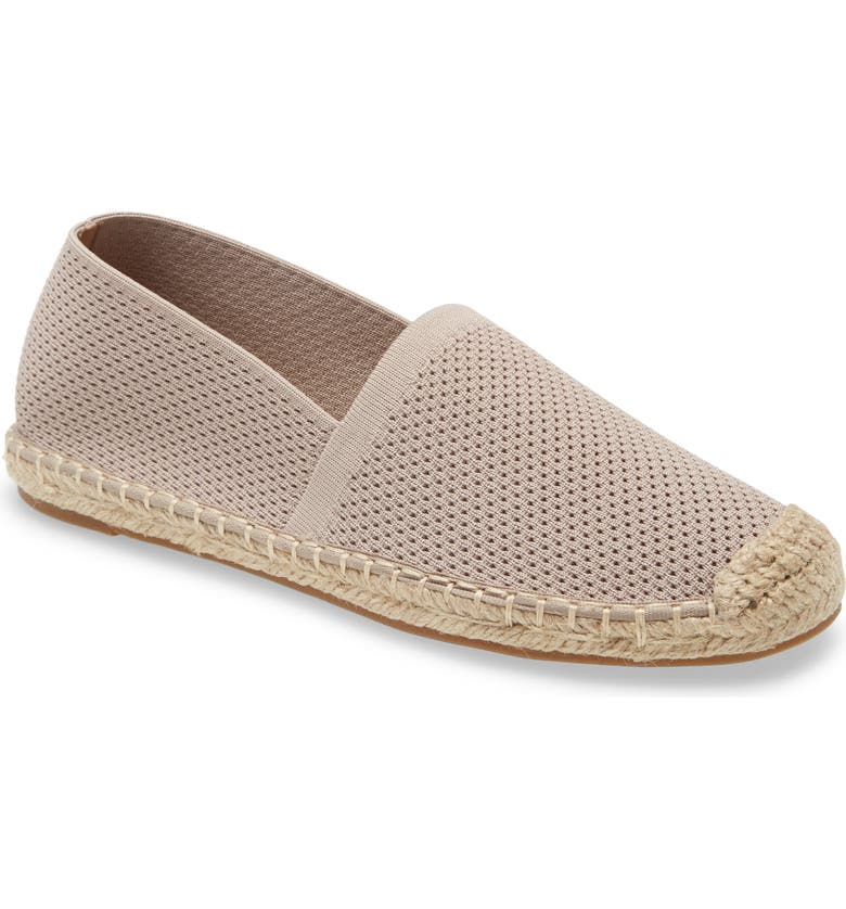 EILEEN FISHER Live Knit Espadrille, Main, color, LIGHT PINK KNIT