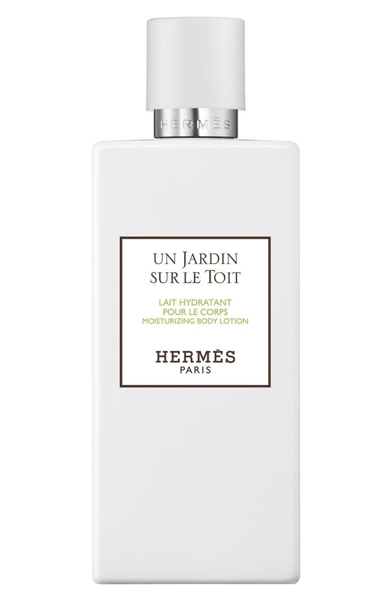 HERMÈS Un Jardin sur le Toit - Moisturizing body lotion, Main, color, NO COLOR