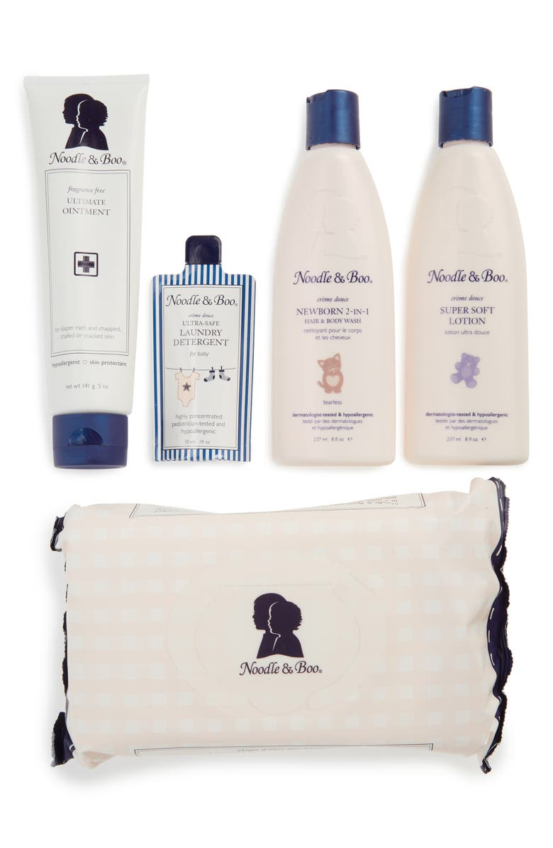 NOODLE & BOO Newborn Daily Essentials Gift Set, Main, color, ASSORTED