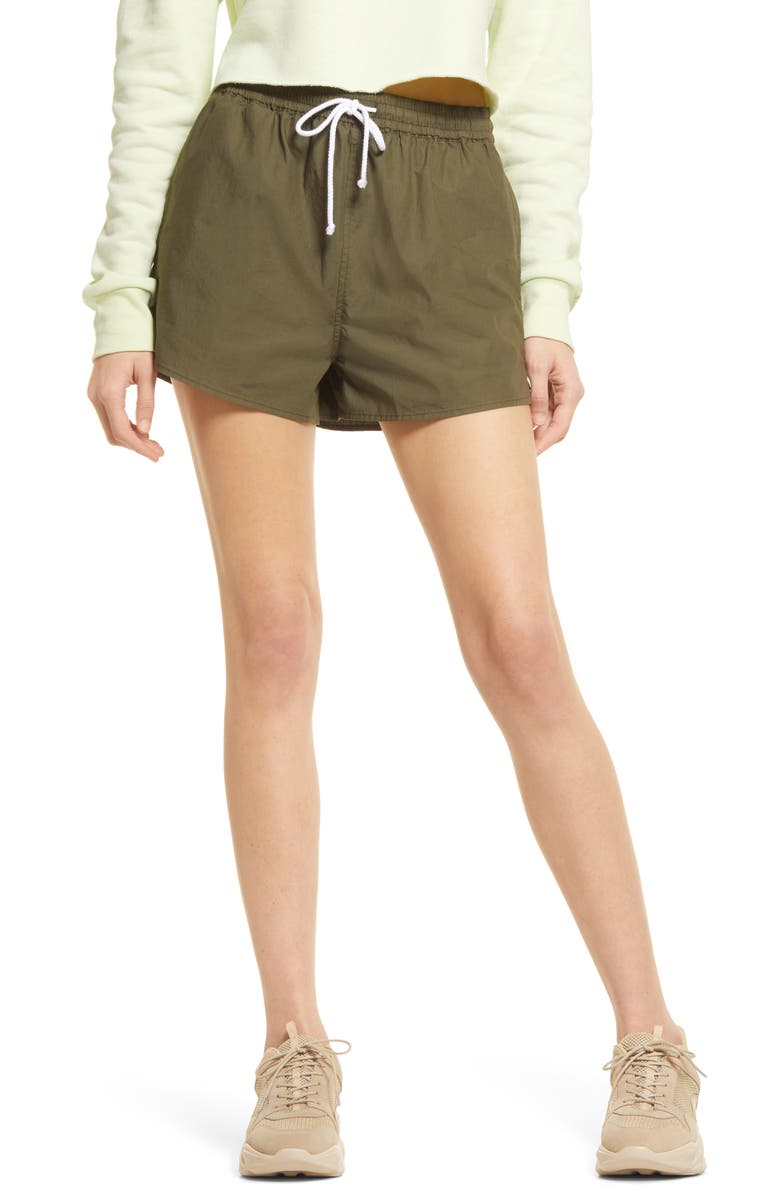 BP. Women's Sport Shorts, Main, color, OLIVE NIGHT