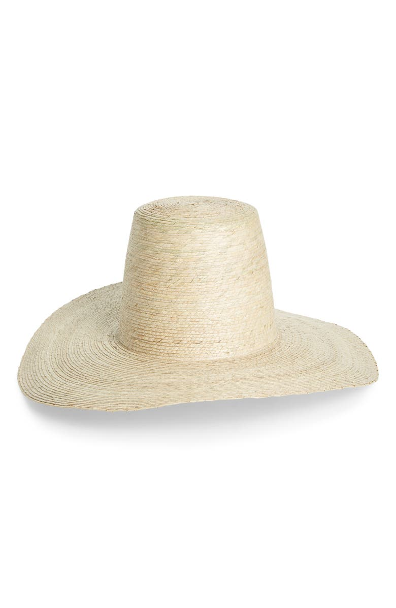 SAN DIEGO HAT Palm Straw Hat, Main, color, NATURAL