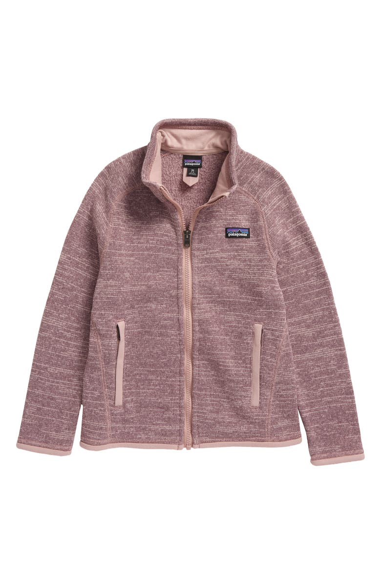 PATAGONIA Better Sweater Jacket, Main, color, HYSSOP PURPLE-HYSP