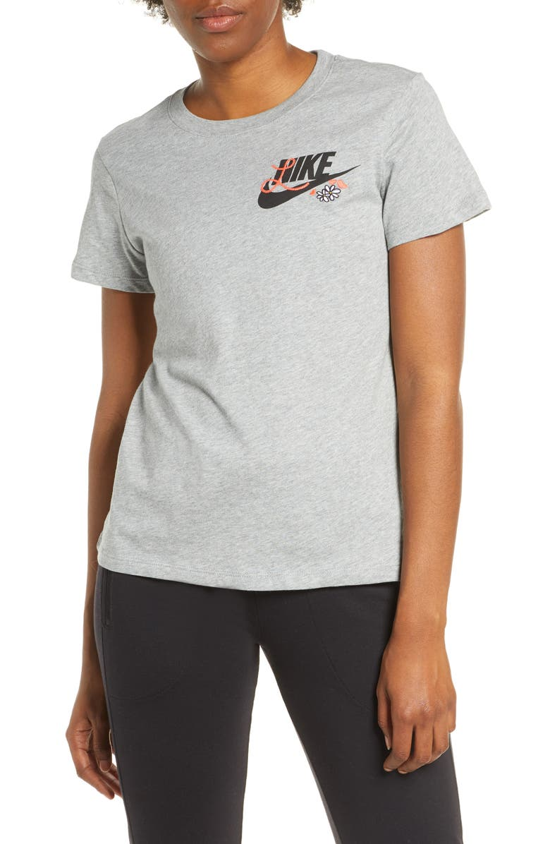 NIKE Embroidered Logo T-Shirt, Main, color, 063