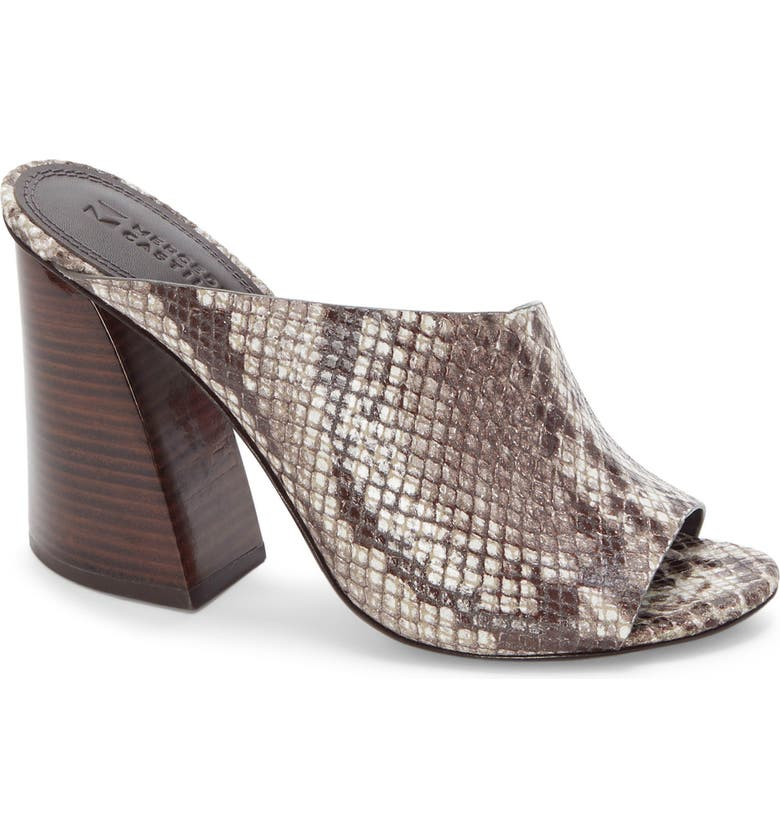 MERCEDES CASTILLO Izar Genuine Calf Hair Mule, Main, color, 001