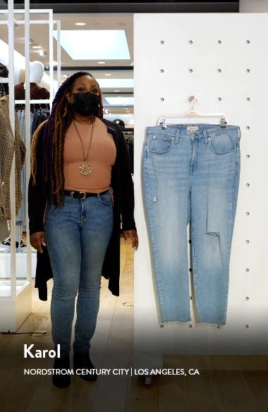 Curvy Perfect Worn-In Jeans, sales video thumbnail