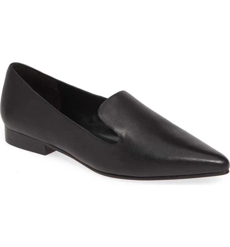 SOLE SOCIETY Kapa Asymmetrical Loafer, Main, color, 001