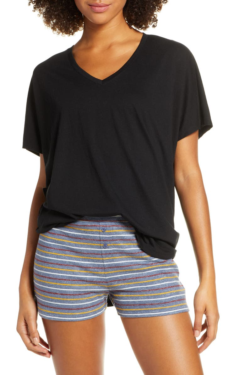BP. Sleepy Lounge Tee, Main, color, BLACK
