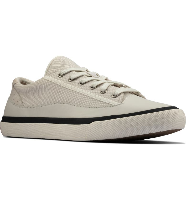 CLARKS<SUP>®</SUP> Aceley Sneaker, Main, color, WHITE CANVAS
