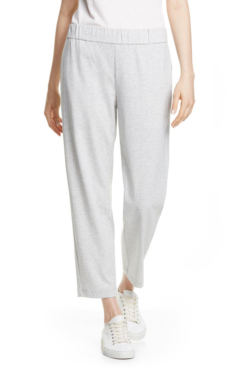 EILEEN FISHER Tapered Ankle Pants, Main, color, 117