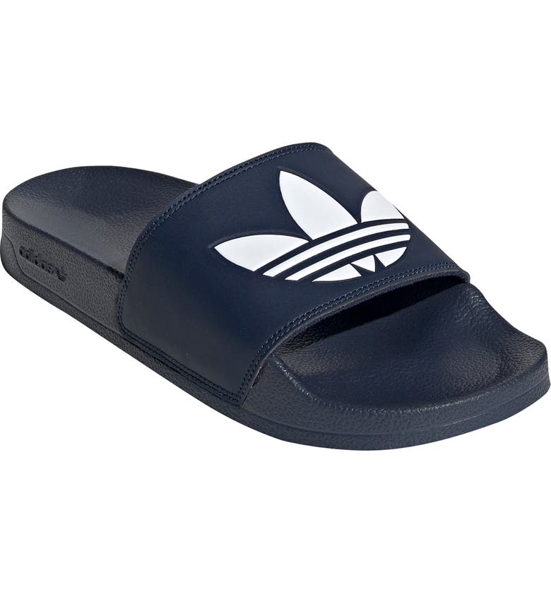 ADIDAS Adilette Lite Sport Slide, Main, color, NAVY/ WHITE/ NAVY