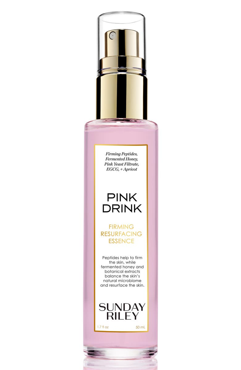 SUNDAY RILEY Pink Drink Firming Resurfacing Essence, Main, color, NO COLOR