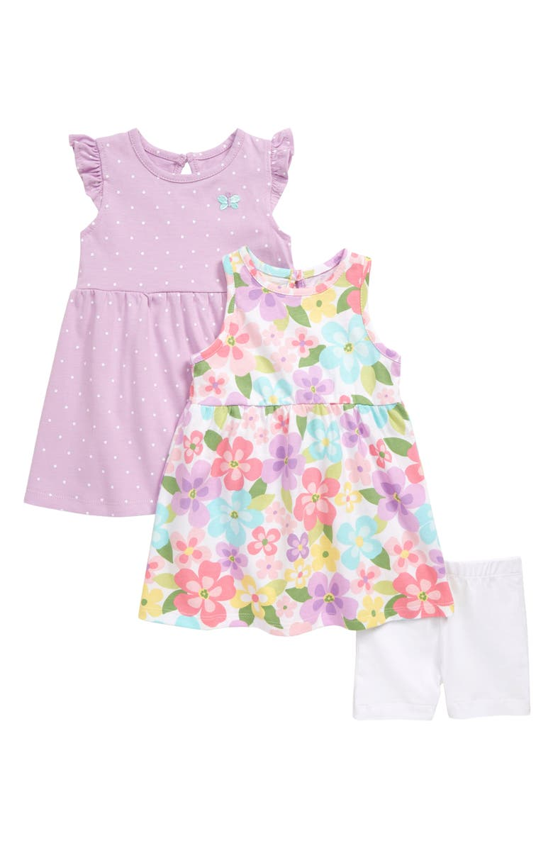 LITTLE ME Dresses & Shorts Set, Main, color, 531