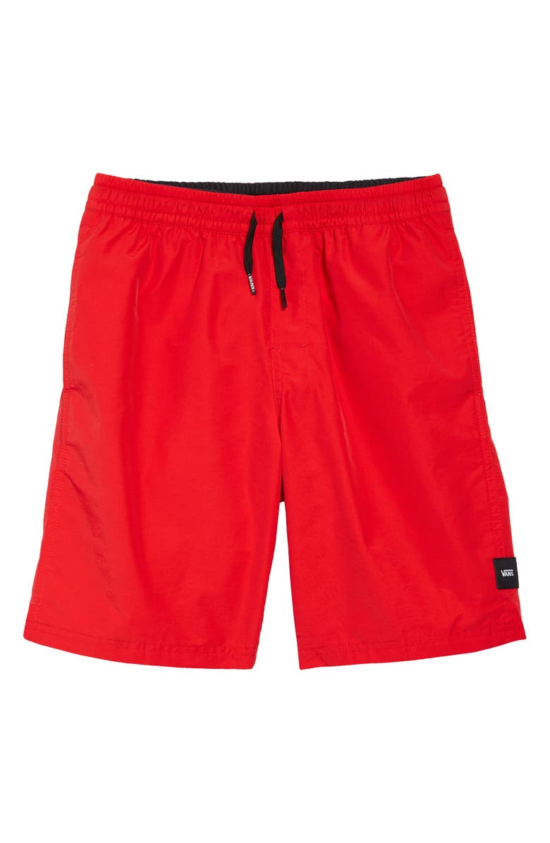 VANS Kids' Primary Volley Swim Trunks, Main, color, HIGH RISK