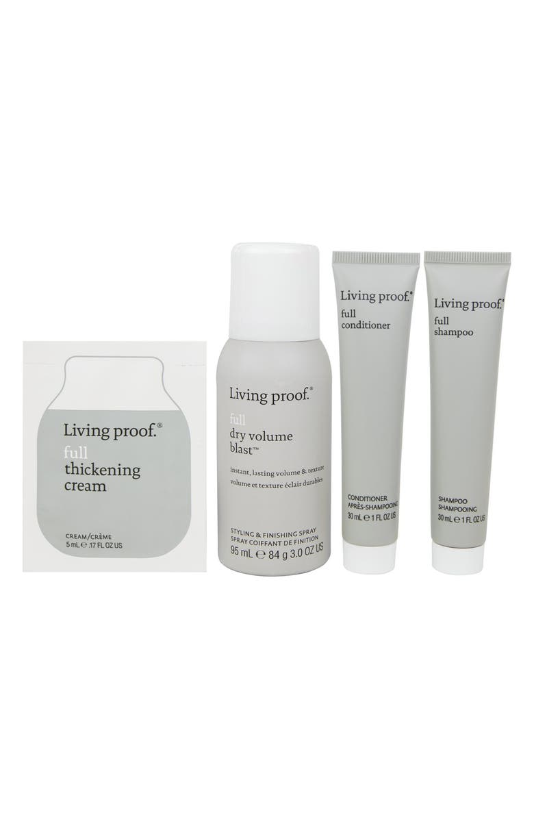 LIVING PROOF<SUP>®</SUP> Fullness + Volume Mini Transformation Kit, Main, color, NO COLOR