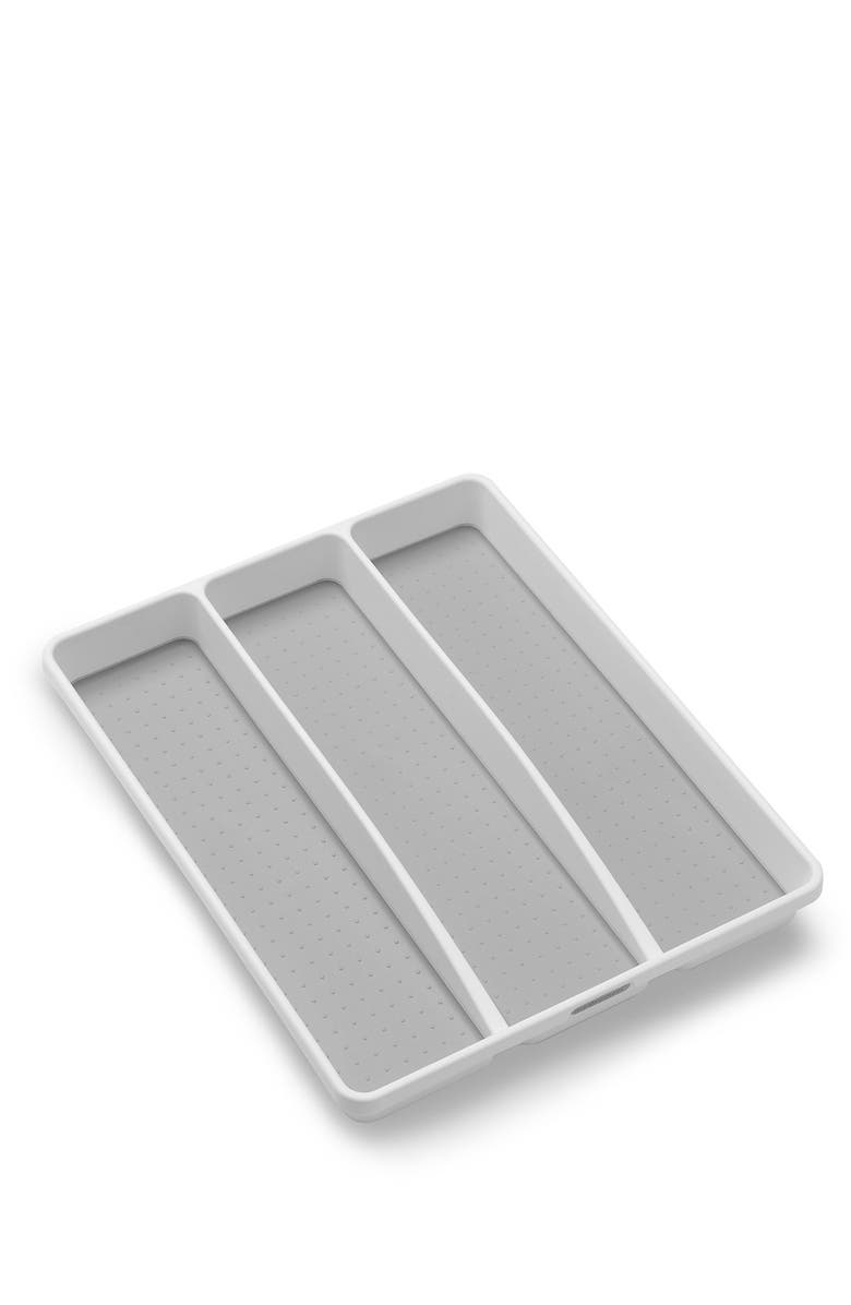 MADESMART Classic Large Utensil Tray, Main, color, WHITE