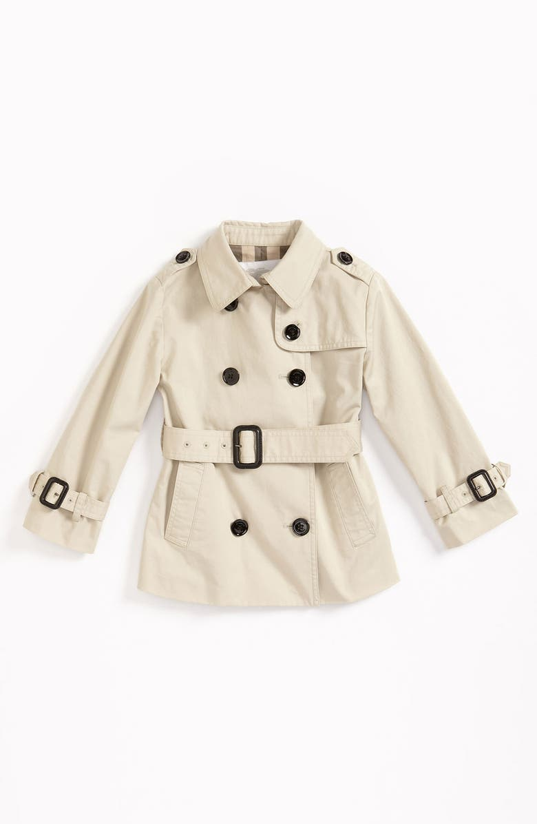 BURBERRY Belted Jacket, Main, color, TRENCH