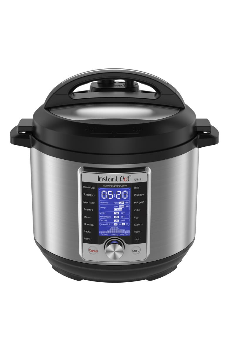 INSTANT POT Ultra 6-Quart 10-in-1 Multiuse Programmable Cooker, Main, color, 040