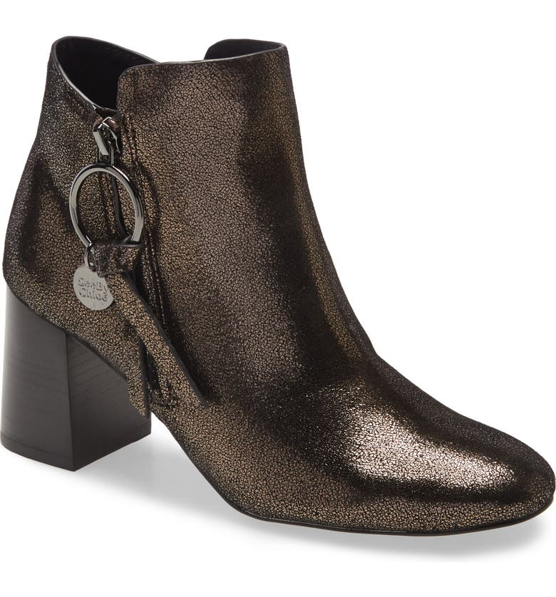 SEE BY CHLOÉ Louise Bootie, Main, color, OLIVE