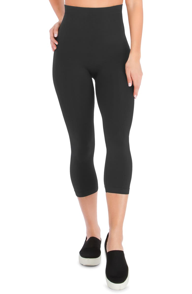 BELLY BANDIT<SUP>®</SUP> Mother Tucker<sup>®</sup> Compression Capri Leggings, Main, color, STL