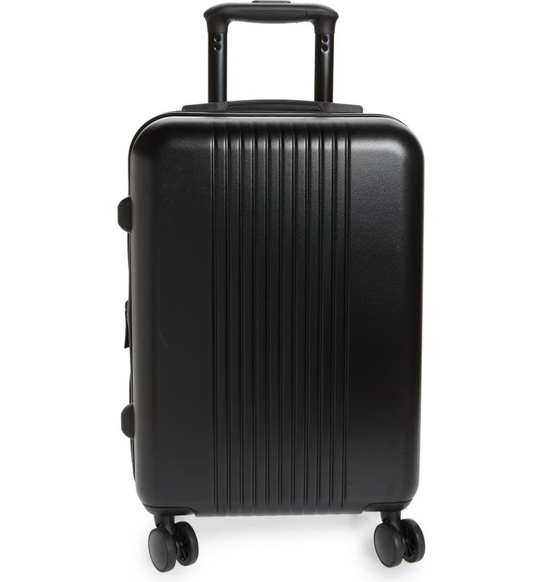 NORDSTROM Spinner Carry-On Luggage, Main, color, 001