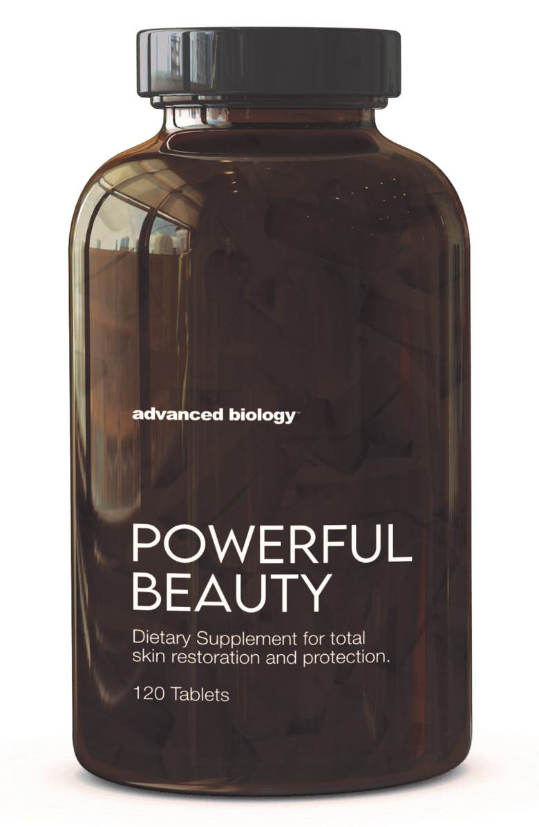 ADVANCED BIOLOGY Powerful Beauty Dietary Supplement, Main, color, No Color