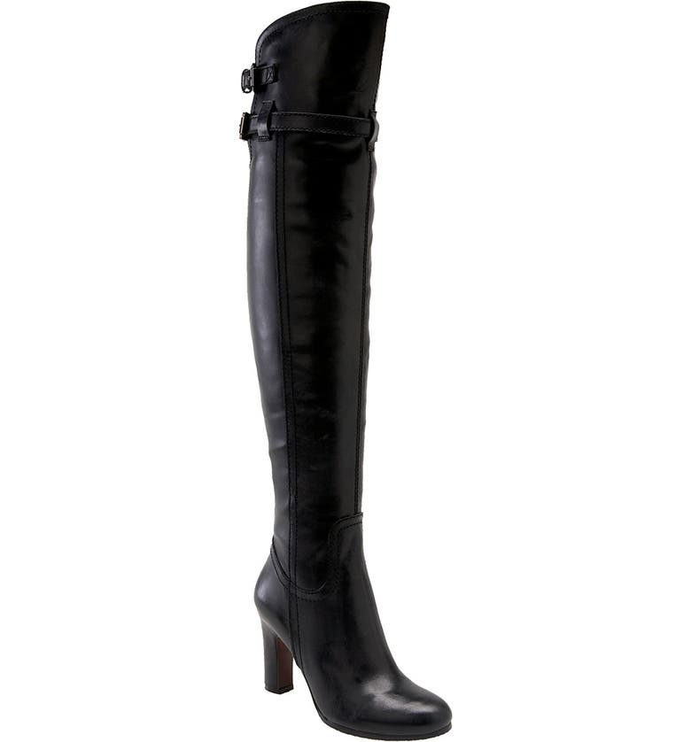 SAM EDELMAN 'Sutton' Over the Knee Boot, Main, color, BLACK WAXY LEATHER