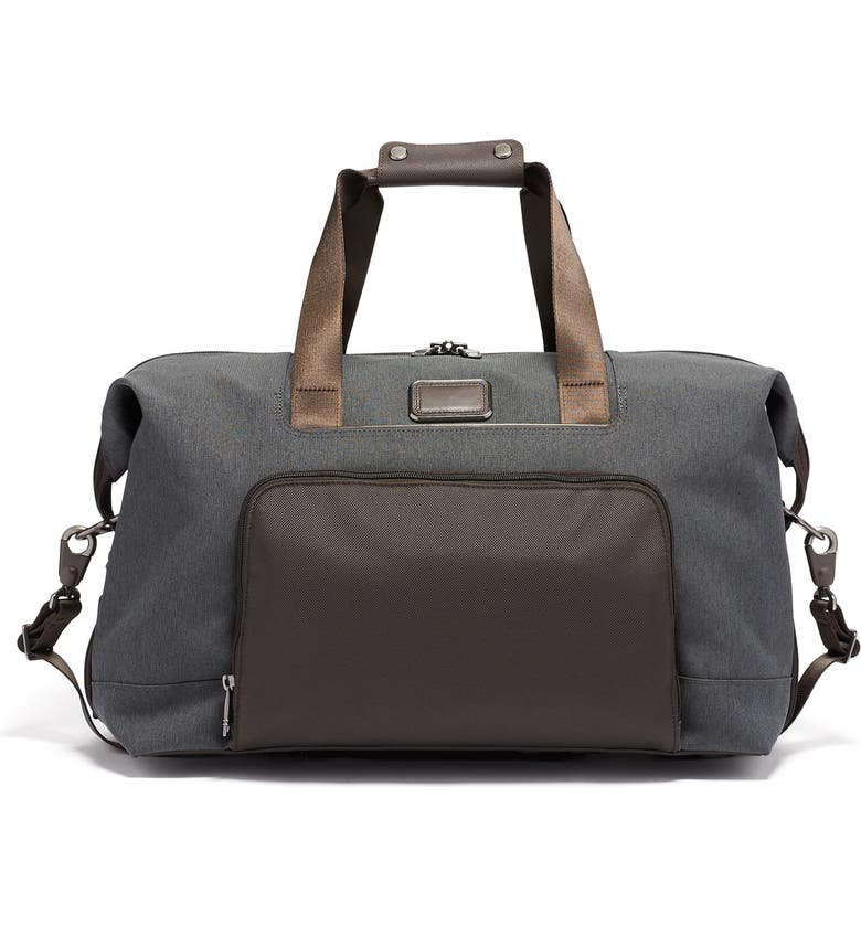 TUMI Alpha 3 Double Expansion Satchel, Main, color, ANTHRACITE
