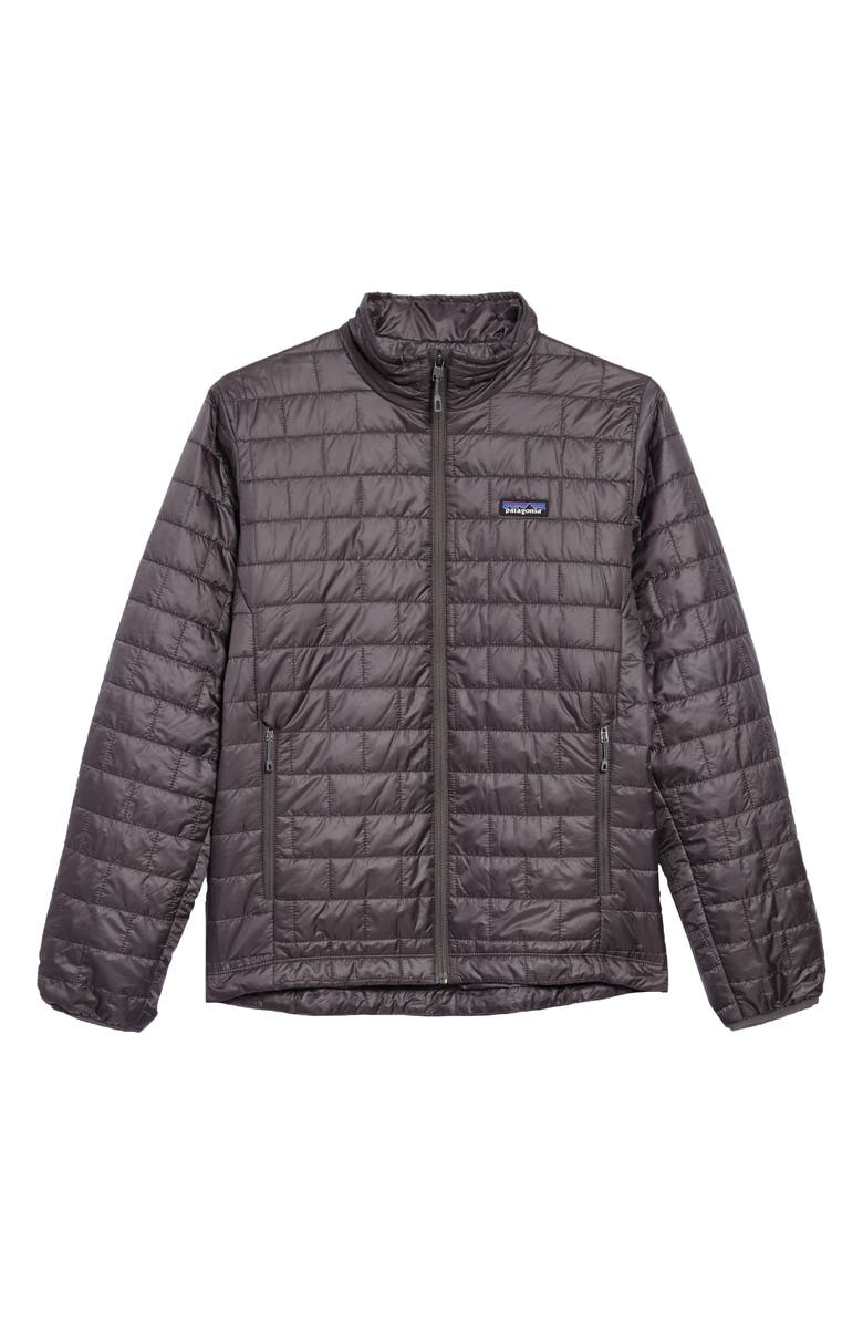 PATAGONIA Nano Puff<sup>®</sup> Water Resistant Jacket, Main, color, FORGE GREY