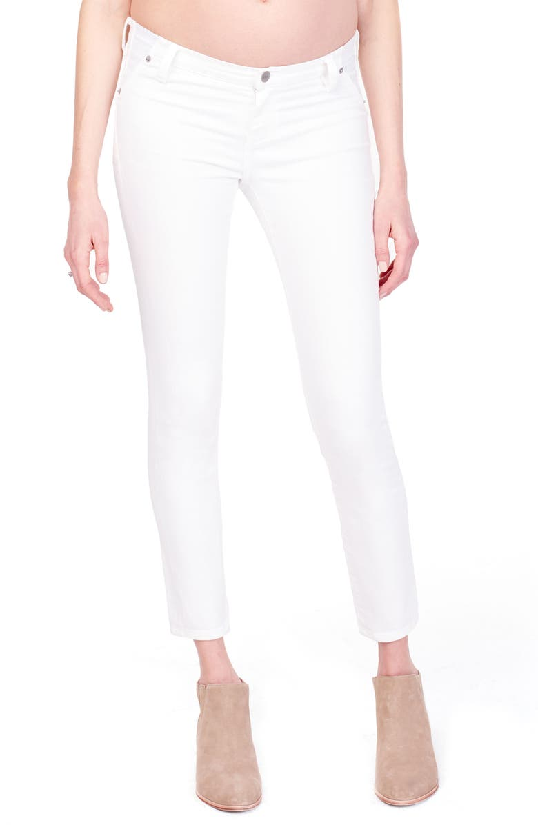 INGRID & ISABEL<SUP>®</SUP> Sasha Maternity Skinny Jeans, Main, color, WHITE
