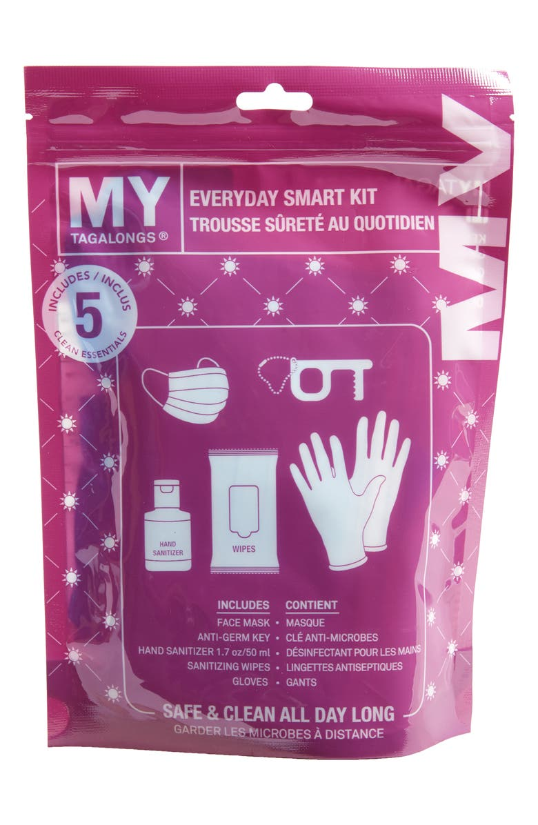 MYTAGALONGS Everyday Clean Essentials Kit, Main, color, PURPLE
