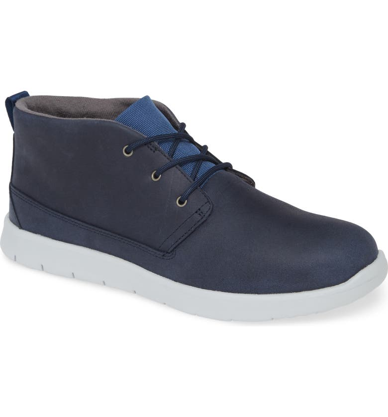 UGG<SUP>®</SUP> Canoe Waterproof Sneaker, Main, color, INDIGO